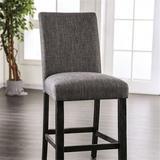 Rosalind Wheeler Courtright Counter Height Side Chair Wood in Gray, Size 41.0 H x 19.0 W x 23.5 D in   Wayfair 83969470A91A4C5286D9370F324395E1