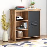 Williston Forge 1 Door Cabinet Wood in Brown, Size 32.28 H x 31.5 W x 13.78 D in | Wayfair DADD68C1FE524C93B0927A9FAC7BE8C2