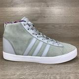 Adidas Shoes   Adidas Womens High Top Suede Basketball Sneakers   Color: Gray/White   Size: 7