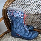 Columbia Shoes | Columbia Girls Snow Boots | Color: Blue | Size: 4g