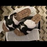 Coach Shoes | Authentic Coach Essie Sandals | Color: Black | Size: 8.5