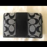 Coach Bags | Coach Wallet Trifold With Credit Card Slots New | Color: Black | Size: Os