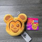 Disney Toys | Disney Parks Wishable Mickey Mouse Waffle Nwt | Color: Tan | Size: 4