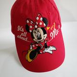 Disney Accessories   Disney Minnie Mouse Girls Hat   Color: Black/Red   Size: Osbb