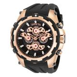 Invicta Men's Watches - Black & Rose Goldtone Specialty Quartz Multifunction Watch
