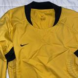 Nike Other | Nike Soccer Goalie Shirt | Color: Black/Yellow | Size: M