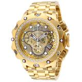 Invicta Reserve Venom 2.52 Carat Diamond Men's Watch w/Mother of Pearl Oyster Dial - 51mm Gold (35560)