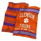 Clemson Tigers 60'' x 70'' Plush Colorblock Blanket