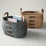 Genevieve Carry-all Basket - Indigo (New) - Frontgate