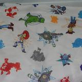 Disney Bedding | Disney Toy Story 4 Fitted Crib Toddler Bed Sheet | Color: Green/White | Size: Crib Sheet