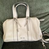Nine West Accessories   Nine West Hand Bag And Crossbody   Color: Cream   Size: Os