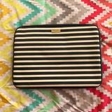 Kate Spade Accessories | Kate Spade Laptop Case 13 Inch | Color: Black/White | Size: Os