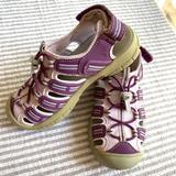 Khombu Sandy Closed Toe Sandals Purple Girl's 1