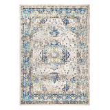 nuLOOM Indoor Rugs Blue - Blue Floral Ainsley Rug