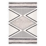 nuLOOM Indoor Rugs Beige - Beige Geometric Textured Atlee Rug