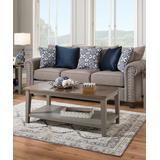 Lane Home Furnishings Coffee Tables grey - Gray & Natural Farmhouse Coffee Table