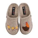 Haflinger Women's Slippers NATURAL - Natural Gallina Wool Slipper - Women