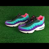 Nike Shoes   Nike Air Max 95 Now Gs Basketball Shoe   Color: Pink/Purple   Size: 5