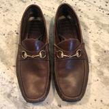 Gucci Shoes | Gucci Bit Loafer (Driving Loafer) 11.5d Brown | Color: Brown | Size: 11.5