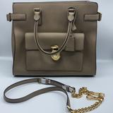 Michael Kors Bags | Michael Kors Emma Large Saffiano Leather Tote | Color: Brown/Tan | Size: Os