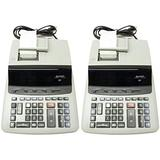 Sharp VX2652H Two-Color Printing Calculator CALCULATOR,12-DIG PRINT (Pack of2)