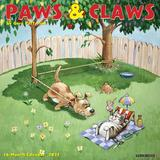 Willow Creek Press Gary Patterson's Paws n Claws 2022 Wall Calendar