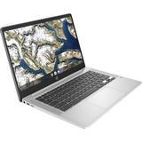 "HP 14"" 32GB Chromebook 14a (Mineral & Natural Silver) 9LL52UA#ABA"