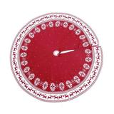 Onewell Christmas Decoration 90Cm Snowflake Deer Pattern Knitted Christmas Tree Skirt in Red, Size 0.2 H x 48.0 W in | Wayfair JQJHLL55551525A1