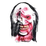 The Holiday Aisle® Skull Skeleton Halloween Mask Bloody Zombie Halloween Decorations Haunted House Cosplay Skull Horror Halloween Party Costume Props