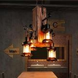 Millwood Pines Gotar 4 - Light Lantern Bulb Pendant Metal in Black, Size 39.0 H x 18.0 W x 18.0 D in   Wayfair A8ADBEE740C34BCE9A11D9C94361CDBD