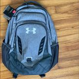 Under Armour Accessories | Bag Pack Gray | Color: Gray/White | Size: 19 Inches X 13 Inches X 10 Inches