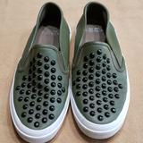 Coach Shoes | Coach Cameron Leather Loafer Shoes | Color: Green | Size: 6.5