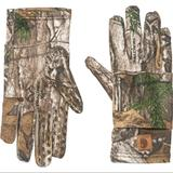 Carhartt Accessories | Carhartt Pocket Liner Camo Gloves | Color: Brown/Green | Size: Os