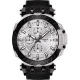 T-sport Chronograph Webbed Strap Watch - Black - Tissot Watches