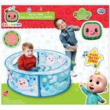 CoComelon Bath Time Sing Along Play Center - Ball Pit Tent with 20 Bonus Play Balls, Multicolor
