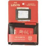 Levi's Mens RFID-Blocking Magnetic Fold Wallet