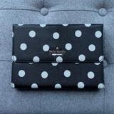 Kate Spade Accessories | Ipad Mini Folio Case With Bluetooth Keyboard | Color: Black/White | Size: Os