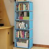 "Rebrilliant kids 61.8"" H X 15.7"" W Steel Chip Resistant Cube Unit Bookcase in Blue, Size 61.8 H x 15.7 W x 11.0 D in | Wayfair"