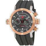 Aqua Diver Chronograph Watch -grys - Pink - Swiss Legend Watches