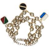 Silver & Gold Beaded Bracelet - Metallic - Maison Margiela Bracelets