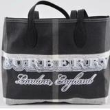Burberry Bags | Brand New Burberry Doodle Reversible Tote | Color: Black/White | Size: Os