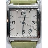 Michael Kors Accessories | Michael Kors Mk-2187 Ss Mens Watch | Color: Green | Size: Os