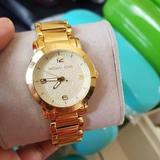 Michael Kors Accessories | Michael Kors Runway Ladies Gold Watch Mk3158 | Color: Gold | Size: Os