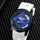 Nike Accessories | Nike Blue Watch Hollow Sports Analog Wristwatch | Color: Blue/White | Size: Bluewhite