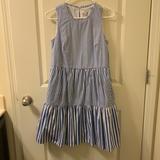 J. Crew Dresses | J Crew Striped Babydoll Dress | Color: Blue/White | Size: 2