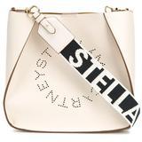 Stella Logo Shoulder Bag - Natural - Stella McCartney Shoulder Bags