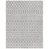 Union Rustic Brylee Handmade Tufted Wool Gray/Ivory Rug Wool in White, Size 0.31 D in | Wayfair 82AF871B016841B1BBC0B716CB254EB8