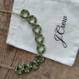 J. Crew Jewelry   J Crew Necklace St. Patrick'S Irish Notre Dame   Color: Gold/Green   Size: Os