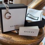 Gucci Jewelry | Authentic Gucci Necklace | Color: Silver | Size: 16 Chain