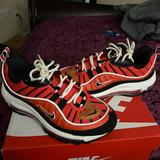 Nike Shoes   Nike Air Max 98 Gs Size 5.5 Womens 7.5   Color: Black/Red   Size: 5.5b